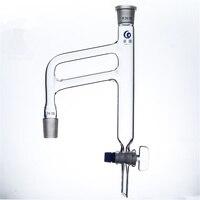 24/29, destillation, Clevenger Gerät, Öl leichter Als Wasser, die Öl Wasserabscheider Doppelrohr