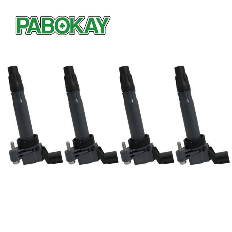 4x New Ignition Coil for Holden Barina Spark CD Auto MJ 1 2L 4 Pin Plug