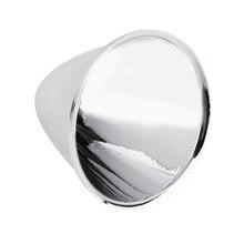 цена на 1pcs LED Reflector Cup High Power For Cree XR-C/XR-E/XM-L Q5 T6 5 Degree LED Flashlight Plastic Plating Reflector Cup