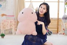 toys for adults 30 50cm Creative Tricky Dick Plush Cute Cock Penis Cushion Soft Cotton toy Car Seat Throw Pillow Birthday Gift