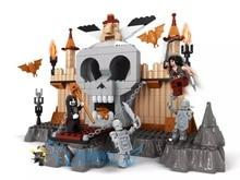 building block set compatible with lego Castle devildom  251 3D Construction Brick Educational Hobbies Toys for Kids