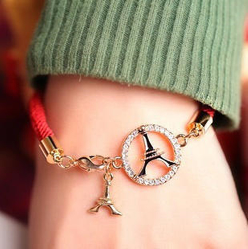 Fashion red string bracelet one of <font><b>the</b></font> <font><b>lucky</b></font> <font><b>few</b></font> sweet temperament lady red string bracelet wholesale