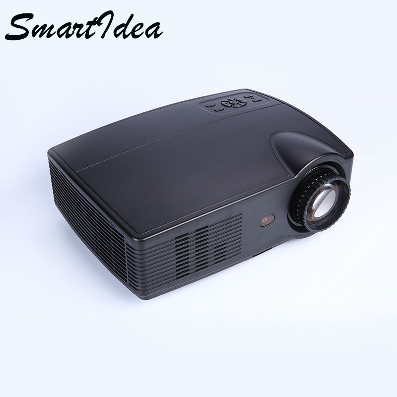 Smartidea 4000 lumens led hd projector 1280 800 lcd for Hd video projector