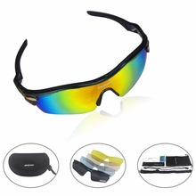 OG-EVKIN Polarized Bike Goggles Cycling Sunglasses Driving Outdoor Glasses