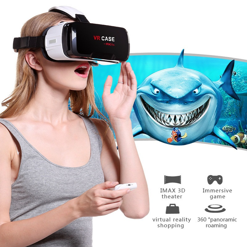 Virtual Reality Glasses VR Box Rirtual Reality Helmet Touch Function 3D Glasses VR Wearing Equipment 16