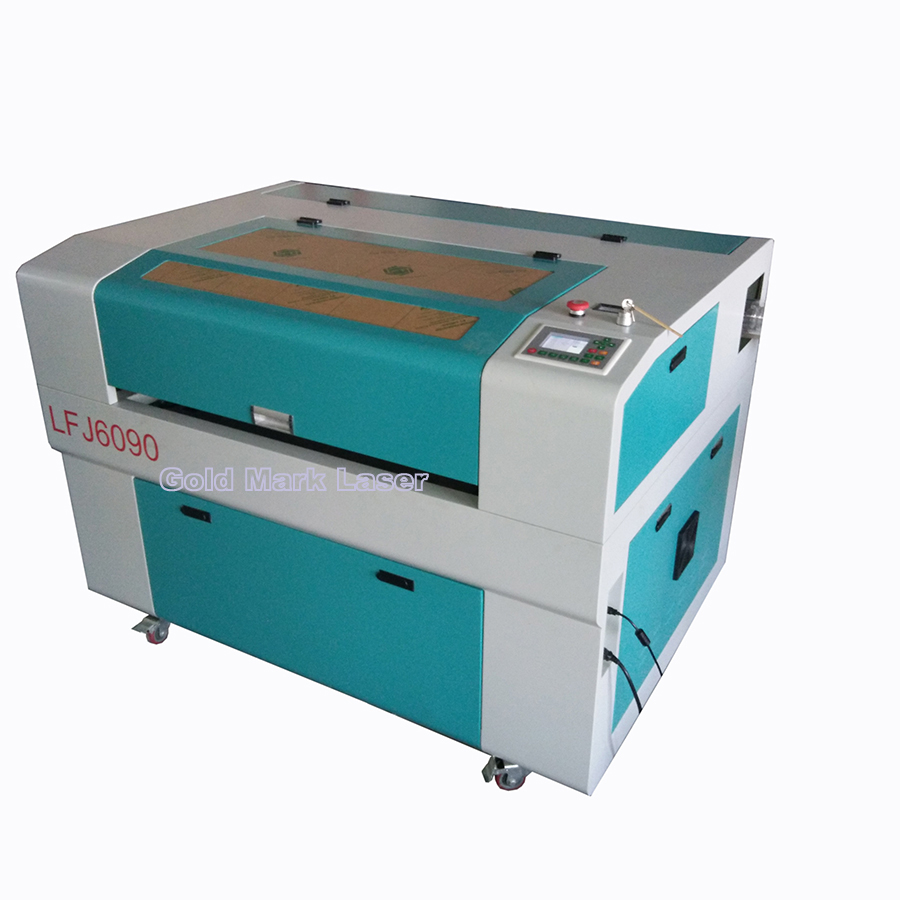 CO2 Laser Cutting Machine 6090 size 150W Reci with CW5000 Water chiller free shipping by sea to your seaport