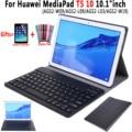 Для huawei MediaPad T5 10 чехол для клавиатуры 10 1 дюймов AGS2-W09 AGS2-L09 тонкий кожаный чехол для клавиатуры Bluetooth