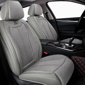 A180 B200 Leather Flax Car Seat Covers For Mercedes Benz