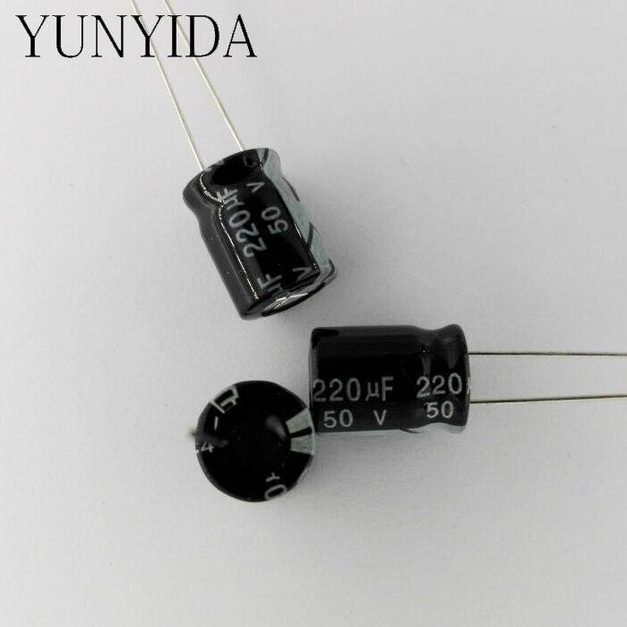 50/V 4700uf 105/C Aluminium Condensateur /électrolytique Noir 25/x 31/mm