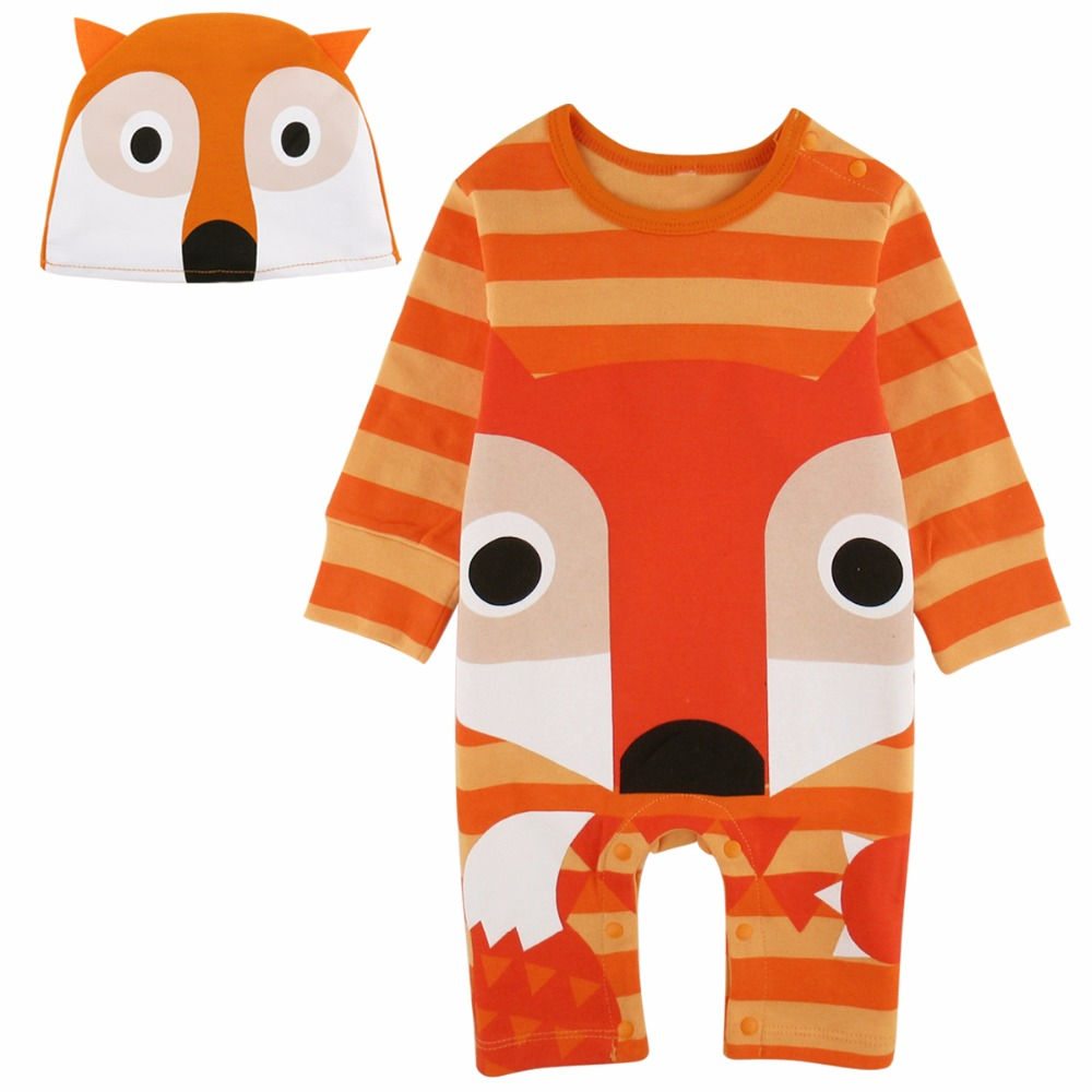 Baby Boys Girls Panda Fox Frog Crocodile Costume Romper Infant Animal Cosplay Jumpsuit New Year Clothes For Boy Winter Outfit puseky 2017 infant romper baby boys girls jumpsuit newborn bebe clothing hooded toddler baby clothes cute panda romper costumes