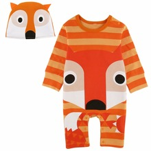 Baby Boys Girls Panda Fox Frog Crocodile Costume Romper Infant Animal Cosplay Jumpsuit New Year Clothes For Boy Winter Outfit
