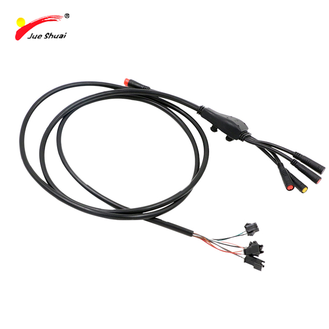 jueshuai Electric Bike Cable Main Wire LED LCD Display Controller Throttle Waterproof Connector Electric Bicycle Accessories_640x640 bike cable wire connectors data wiring diagram site