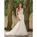 2016 Sexy Sereia Vestidos de Casamento Organza Decote Sem Mangas de Comprimento Total Vestido De Noiva Vestido de Casamento Formal Ocasião vestido de noiva casamento vestidos de noiva