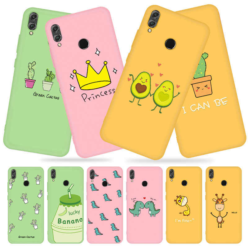 Cute Cactus Pattern Candy TPU Case For Huawei Mate 20 Lite P20 P30 Pro For Honor 10i 20 Pro 10 9 Lite 8X P Smart Plus 2019 Cover