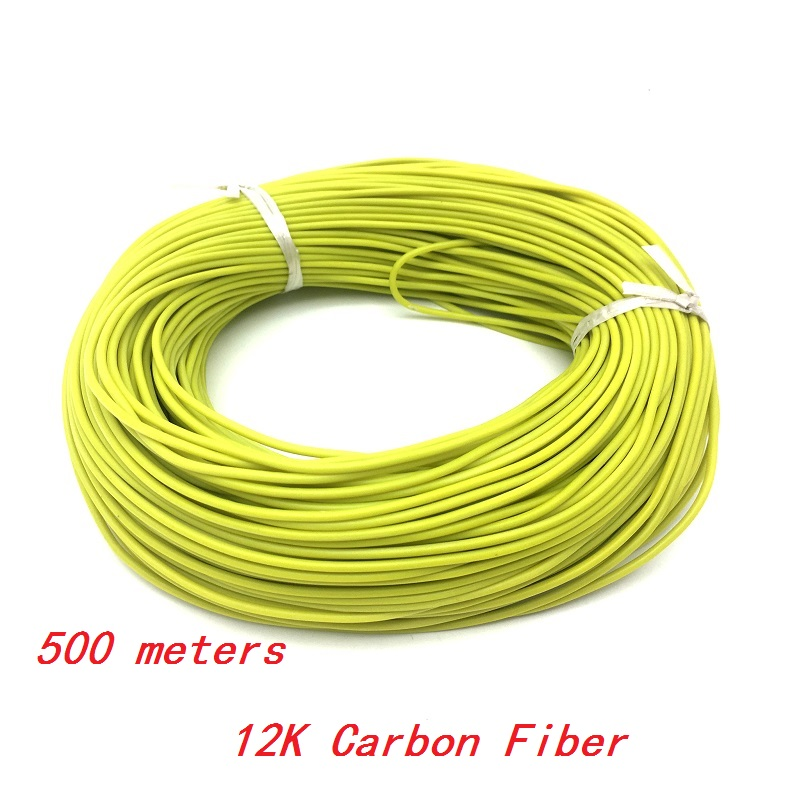 500 METERS 12K 33 Ohm m warm system Infrared Floor Heating Cable Silicone heating cable