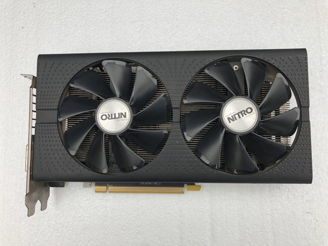Used Sapphire RX 470 4G Ultra-platinum Desktop Display High-end Game Graphics Card