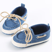 Newborn Baby Shoes Infant First Walkers Lace-Up style Boys Girls Shoes Toddler Soft Soled Comfortable Shoes