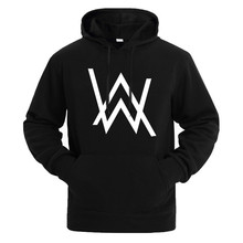 e2f8b6d197a5a Hip Hop Streetwear Alan Walker DJ Hoodies High Quality Hooded Sweatshirt  Men & Women Suprem Hoodie