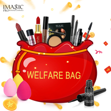 IMAGIC Birthday Gift Makeup Set Lucky Bag, delivered randomly, with top quality products, for eye shadow palette lip cosmetics g(China)