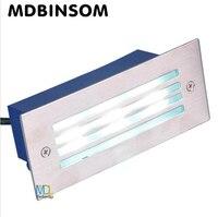 LED Deck Step Light 3W Underground Lamp Recessed Stair Paitio Inground Spot Lights Floor Garden Landscape