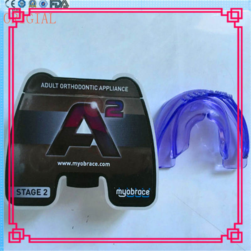 Original Australia MRC Orthodontic A2 Trainer Regular Size/A2 Myobrace for Adult UseOriginal Australia MRC Orthodontic A2 Trainer Regular Size/A2 Myobrace for Adult Use