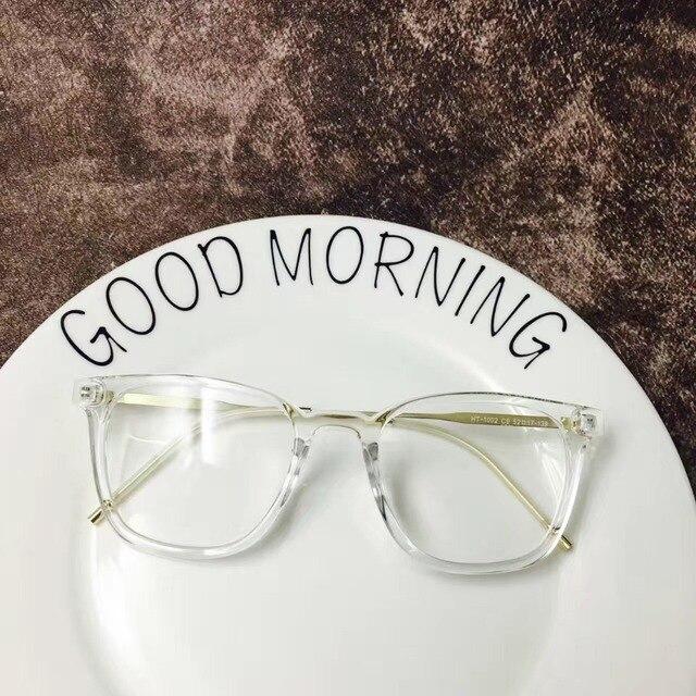 VAZROBE Transparentes Mulheres Óculos homens óculos de nerd quadros moda  eyewear lente óptica Clara Feminino pontos 080dd6bdf0