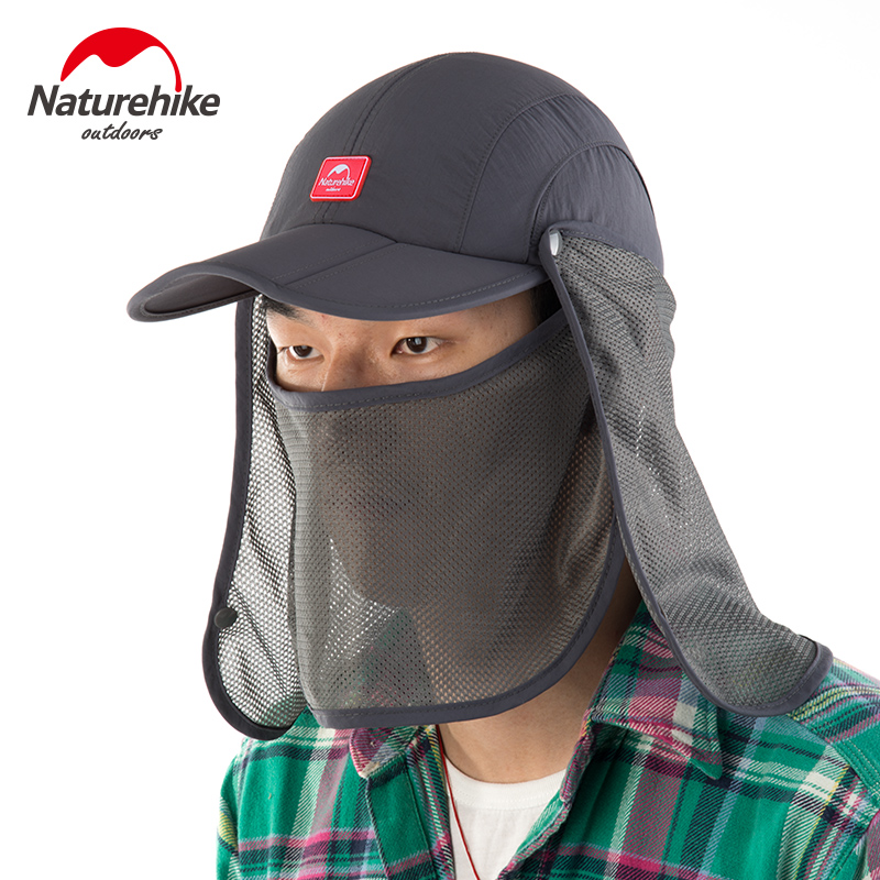 Prix pour Marque naturehike camping randonnée marche unisexe antipoussière chapeau pliable chapeau de soleil topee nh12m002-z respirant