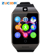Luxury Smart Watch Support SIM TF Card Bluetooth Pedometer Fitness Tracker Wristwath Clock Mp3 Camera For iOS Android PK L6S A58
