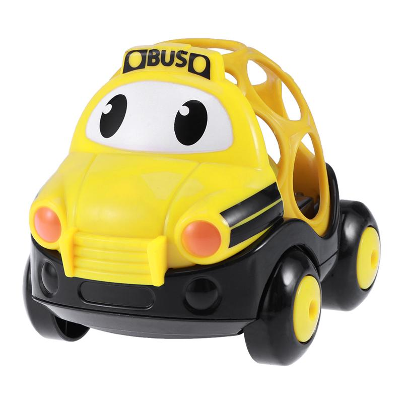 1PC Cute Cartoon Baby Toy Car Sound And Light Music Small