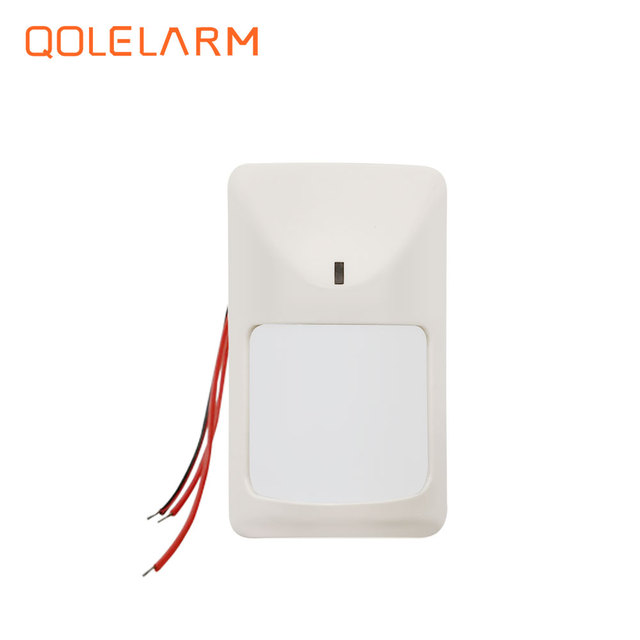 English/Russian/French/Spanish Wireless gsm auto dial alarm security anti burglar for home security wire PIR door detector siren
