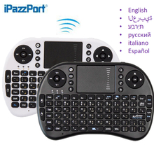 Top selling 2.4G RF mini i8 Wireless Keyboard Touch gaming Keyboard for TV BOX HTPC Tablet Laptop PC Teclado super long standby