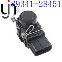 10pcs oem 89341 28450 89341 28451 PDC park sensor for toyota Estima Previa land c ruiser uzj/grj200 black white silvery color
