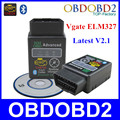 Mini ELM327 Bluetooth V2.1 Vagte ELM 327 Black OBD/OBD2 Diagnostic Tool Works On Android/Symbian/Windows