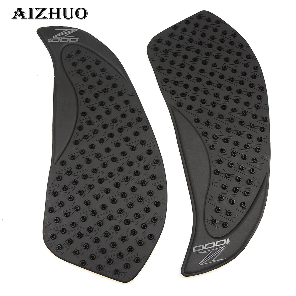 Frames & Fittings Humble Motorcycle Tank Traction Pad Side Knee Fuel Gas Grip Protector Antiskid For Kawasaki Z1000 2010-2013 Pair Falling Protection