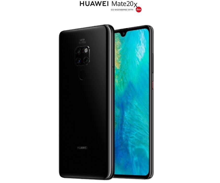 HUAWEI Коврики 20 X 20X смартфон 7,2 дюймов 2244x1080 экран Kirin 980 8-ядерный 6 ГБ Оперативная память 128 ГБ Встроенная память FACE ID Разблокировка 40MP CAMEAR