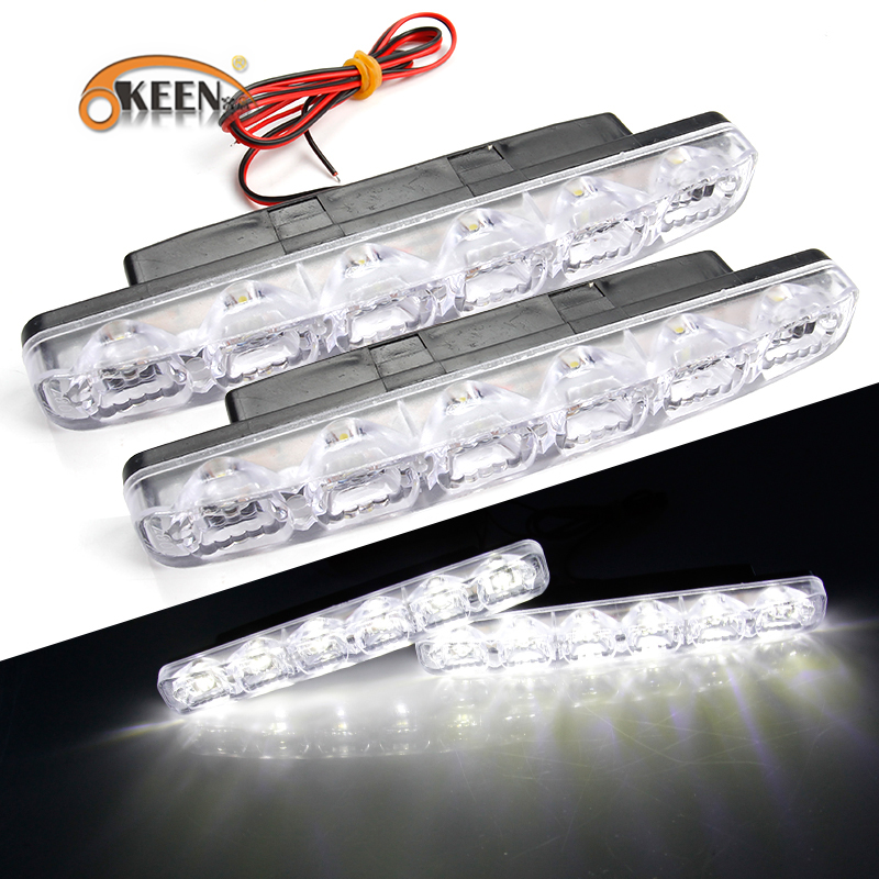 OKEEN 2PCS Φώτα ημέρας οδήγησης - Φώτα αυτοκινήτων