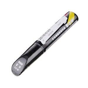 Image 5 - Caneta marcadora para reparo de arranhões, pincel à prova dágua, cuidados com o piso do pneu, preto, branco, vermelho, prata