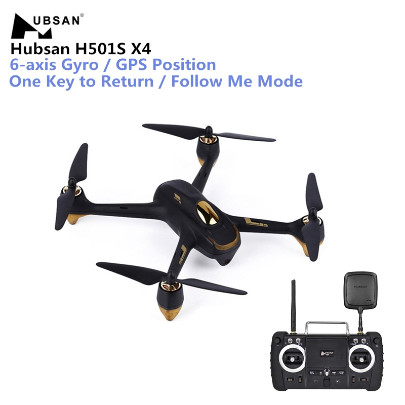 Hubsan H501S X4 Drone 5.8G FPV RC 10CH Brushless with 1080P HD Camera GPS RC Quadcopter - Advanced Version hubsan h501s lipo battery 7 4v 2700mah 10c 3pcs batteies with cable for charger hubsan h501c rc quadcopter airplane drone spare