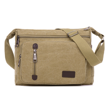 2016 jofeanay Men's Messenger Bags Canvas Shoulder Hand Bag Fashion Men Business Crossbody Bag Printing Brief Travel Handbag