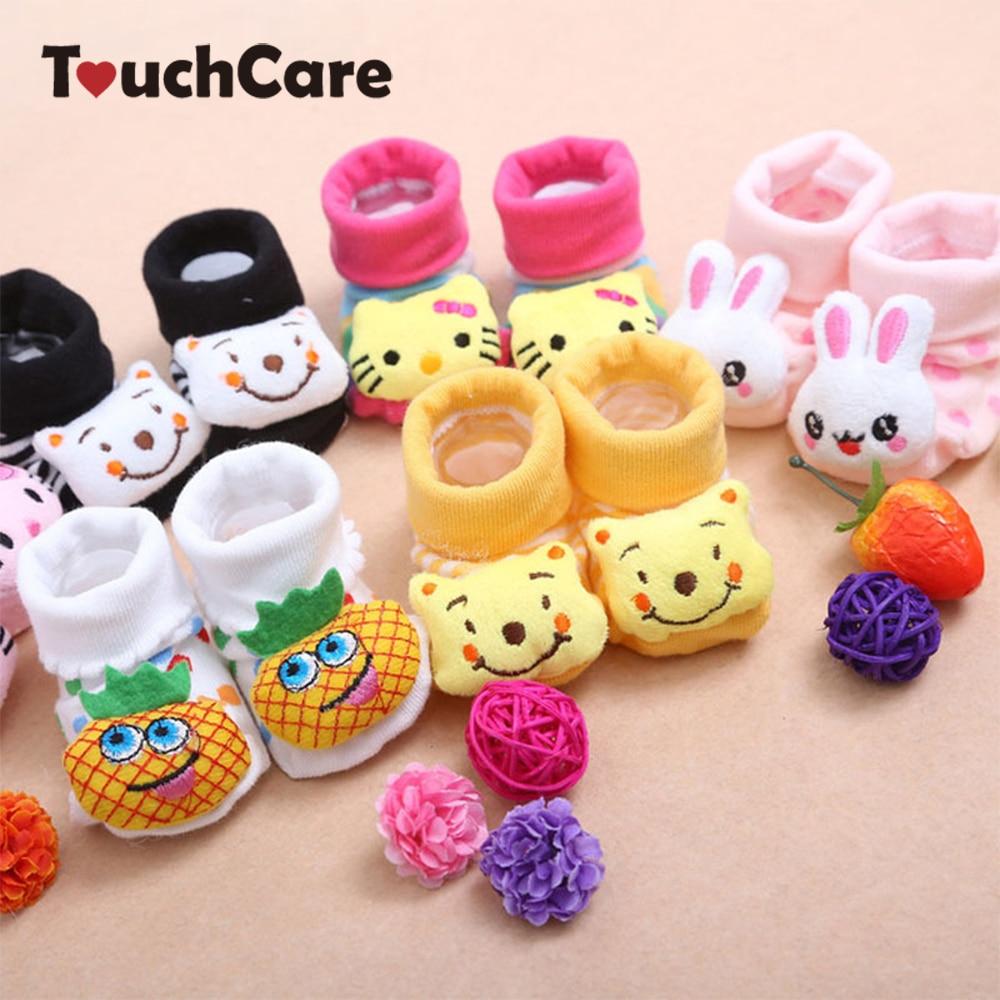 24 Stil Schöne Nette Neugeborene Baby Socken Tierkarikatur Puppe ...