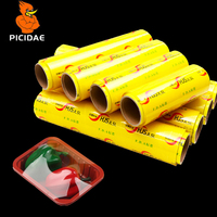 Pvc Fresh Keep Film Plastic Wrap Fruit Vegetable Food Stretch Kitchen Viscosity Commercial Slimming Beauty Packed Cold Storage