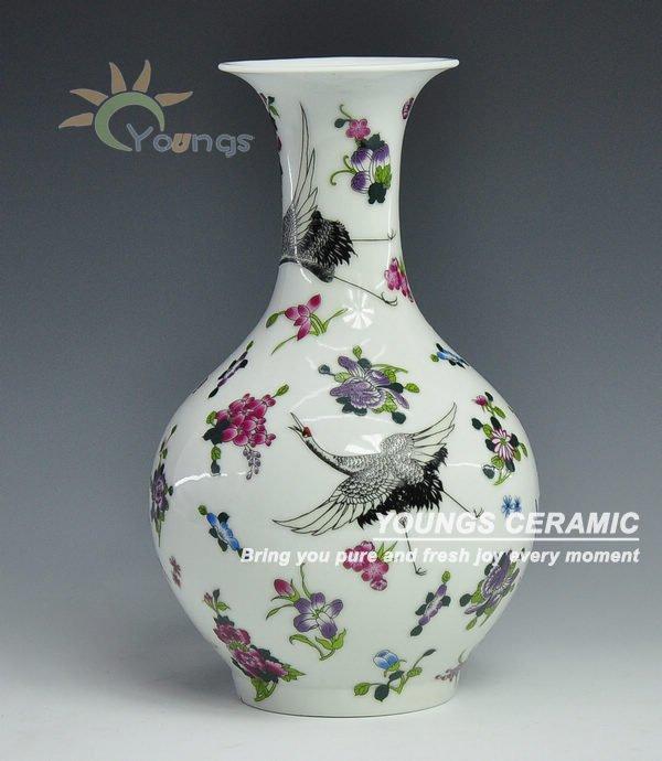 chinos de cermica de porcelana luminosa shang jardiniere jarrones con gra gra diseo floralchina