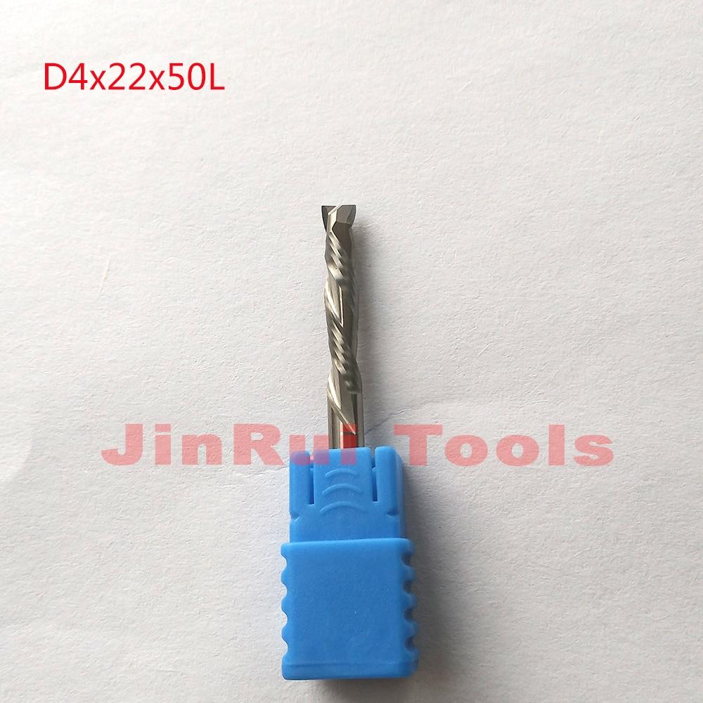 5pcs  D4*22*50L HRC55  2 Flutes Up&Down Cut Solid Carbide CNC Router Bit Wood  Milling Cutter Tool knfie fresa ferramentas 4 l 22 5 777859