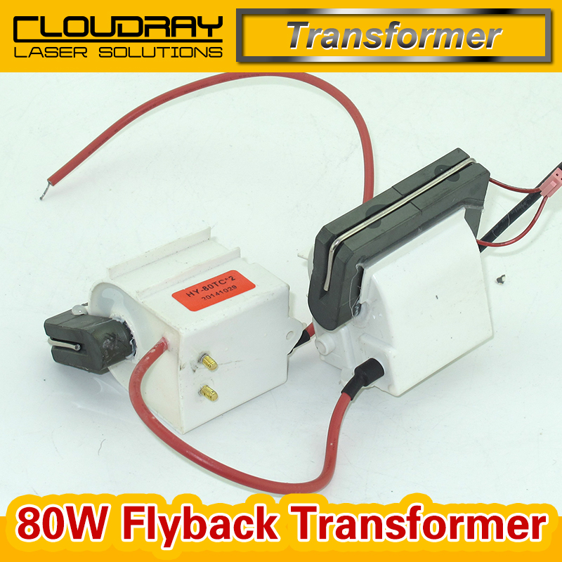 High Voltage Flyback Transformer for CO2 80W Laser Power Supply  цены