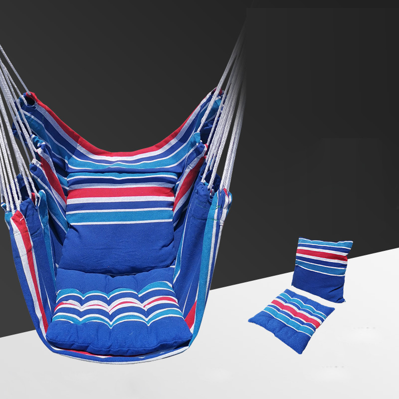 T Outdoor Hanging Chair Dormitory College Household Hammock Camping Sleeping Cradle Children Swinging With Pillows Dropshipping