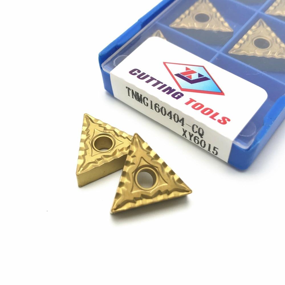 20P Lathe tools TNMG160404CQMAS XY6015XY3015XY6015 high quality cylindrical negative angle blade metal milling CNC tool