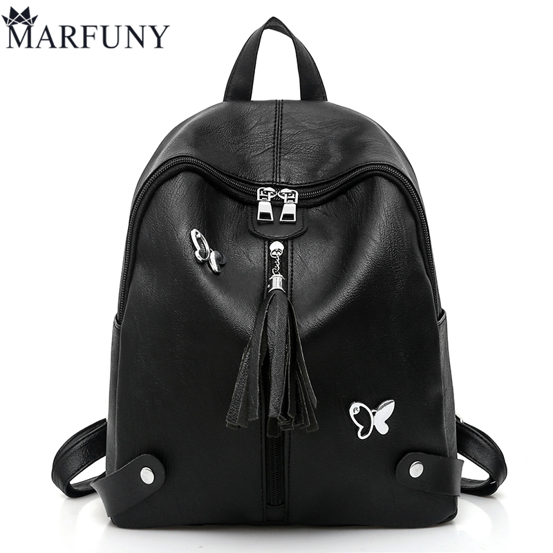 Hot Sale Sequined Backpacks For Girls Fashion Tassel Women Backpack Female Butterfly Daypack SchoolBag Pu Leather Shoulder Bags mma backpack box ing shoulder ufc memory gifts daypack for friends