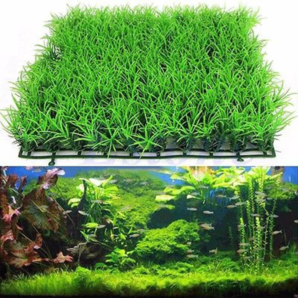 Air Aquatic Tanaman Rumput Hijau Rumput Buatan Aquarium Fish Tank Landscape Baru F8173 Fish Tank Landscaping Artificial Wateraquarium Lawn Aliexpress Rumput sintetis untuk aquarium