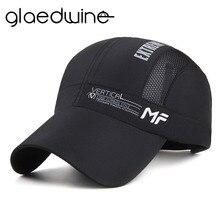 Glaedwine 2017 New Summer Baseball Cap Quick Dry Dad Hat Sport Fashion Sun Baseball Caps Breathable Ultra Thin Snapback Gorras