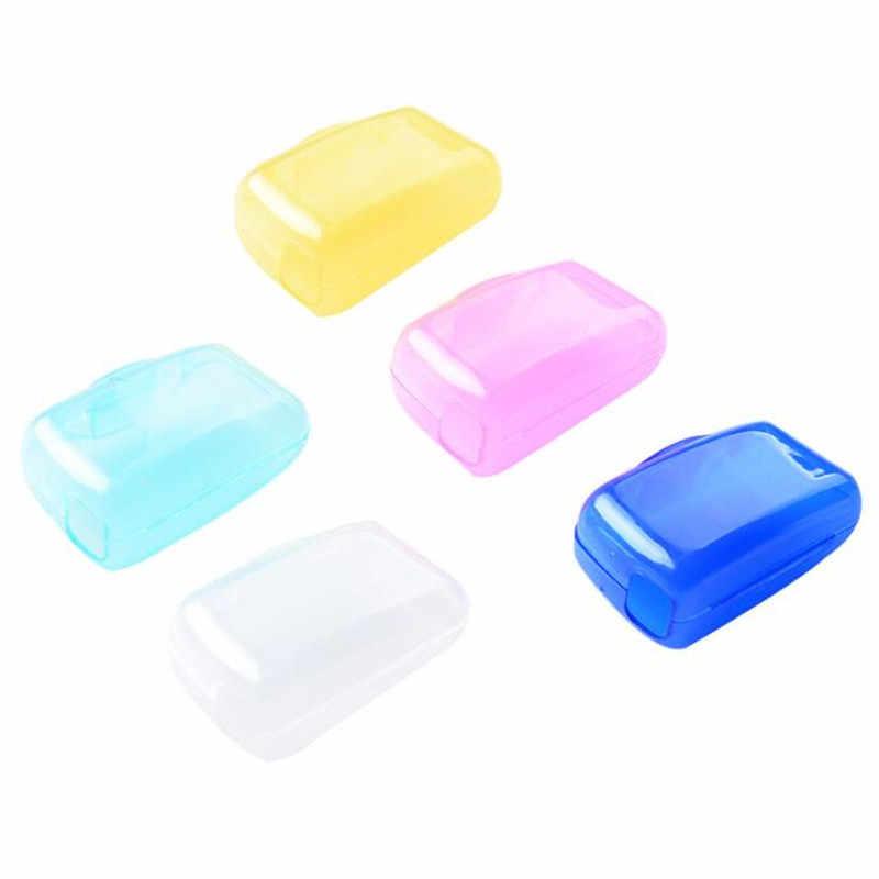 5 Pcs Fashion Tandenborstel Cover Case Cap Reizen Accessoires Plastic Protector Cleaner Draagbare Verpakking Organisator